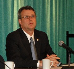 PEI Health Minister Doug Currie promoting new regulations that will harm people with disabilities