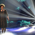 susan boyle on britain got talent 150x150 Susan Boyle sings Cry Me A River, 10 years ago photo
