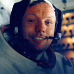 Neil Armstrong inside the LEM happy 150x150 Engineers working on Apollo 11 LEM computer could only guess photo