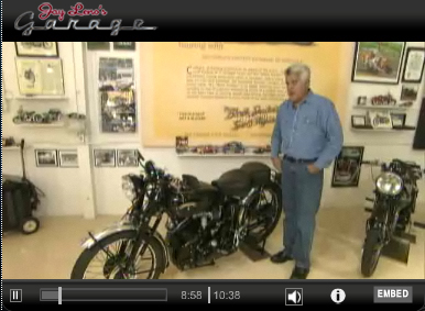 Jay Leno with Vincent My cousin Stephen Pate visiting Jay Leno photo