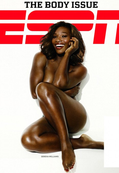 Serena Williams ESPN Magazine Nude Cover Serena Williams another sensation at Kingdom Hall photo