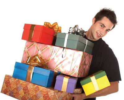 l'achat des cadeaux et le noel