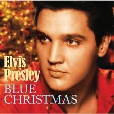 Elvis Christmas Blue Christmas diary photo