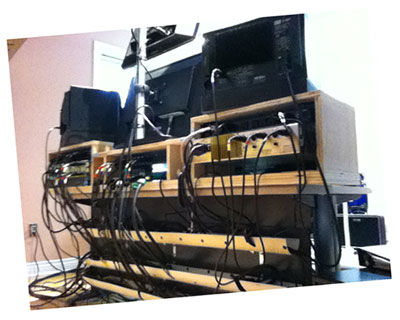 Studio cable management