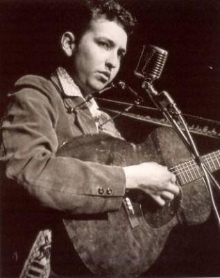 Bob Dylan at Gerdes 1961