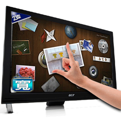 Acer T231H touch screen $280 to $310