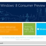 Windows 8 Consumer Preview invite 150x150 Steven Sinofsky Windows 8 Preview photo