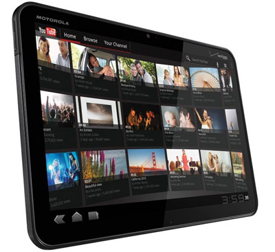 Motorola Zoom - Android Tablets the 2012 threat to Apple's iPad (photo TechWrench)