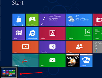 Start Button Windows 8 Its All In The Touch photo