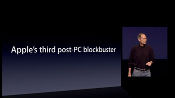 Apple Post-PC crunching the numbers on iPad