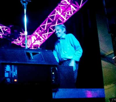 Levon Helm (b. 1940 - d. 2012) famous rock musician Fredericton Harvest Blues Festival 2011  (photo Stephen Pate)
