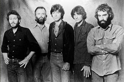 The Band - Levon Helm, Garth Hudson, Robbie Robertson, Rick Danko, Richard Manuel