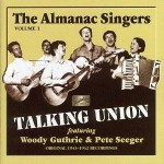 Almanac Singers Guthrie 150x150 Woody Guthrie 1930s guitar Getty Stephen Chernin crop photo