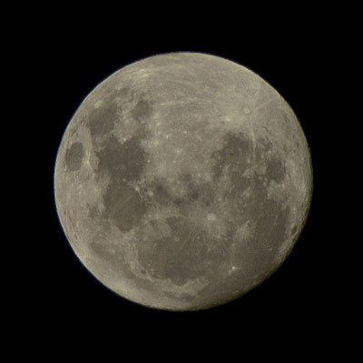 Perigee moon May 5 2012 (photo Peter Asquith, New Zealand rights reserved)