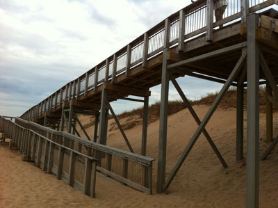 Brackley Beach wheelchair ramp, try it sometime
