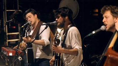 Mumford and Son – Little Lion Man (photo stills copyright S2BN Holdings)