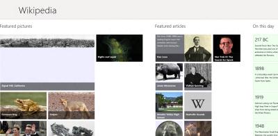 Wikipedia Windows 8 Metro