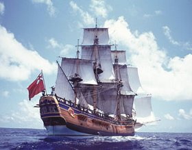 The Endeavour. (Credit: HMS Endeavour Foundation)