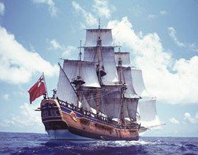 The Endeavour. (Credit: HMS Endeavour Foundation)
