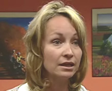 Melissa MacEachern, former PEI Deputy Minister of Tourism in alleged conflict of interest over contracts (photo – CBC)