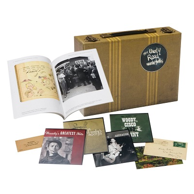 Woody Guthrie My Dusty Road, box-set Rounder Records