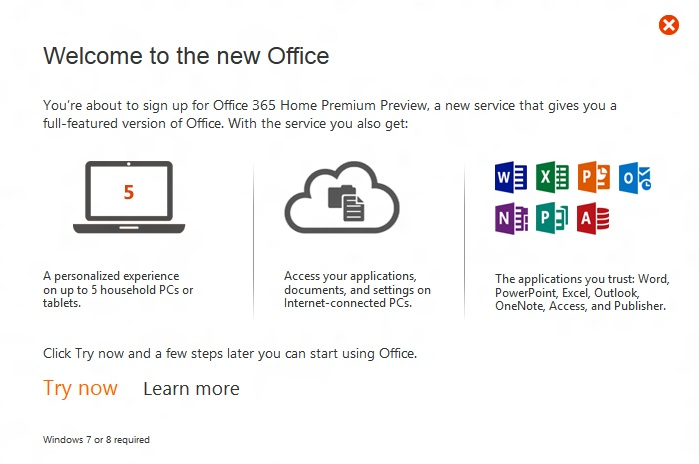 office 365 home premium 2013 customer preview njn network. Black Bedroom Furniture Sets. Home Design Ideas