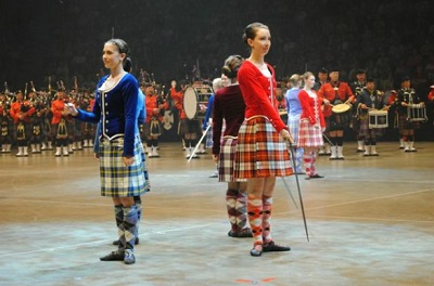 Tattoo 2011 Highland Dancers (photo Royal NS International Tattoo)