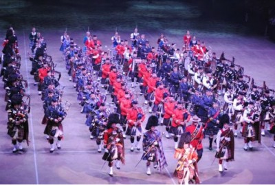 NS Tattoo 2012 Massed Pipes and Drums (photo Royal NS International Tattoo)