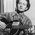 Woody Guthrie guitar kills Fascists1 150x150 Hunting for the Woody Guthries Guitars photo