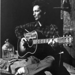 Woody playing SJ 150x150 Woody Guthrie 1930s guitar Getty Stephen Chernin crop photo