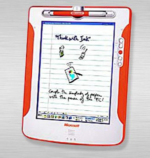 Microsoft tablet prototype 2000 (photo credit PC World)