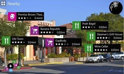 Nokia City Lens – augmented reality