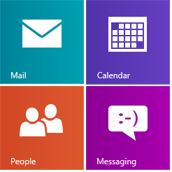 Mail Calendar People and Messaging apps1 Will Windows 8 apps update be a bust? photo