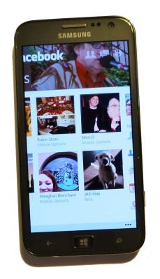 Facebook app, Samsung ATOV S
