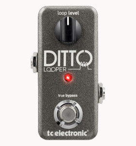 TC Helicon Ditto Looper, only two buttons