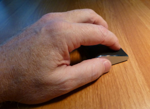 Microsoft Wedge Touch Mouse - ultra small