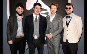 Mumford and Sons win Grammys 2 300x187 Mumford and Sons win first two Grammys photo