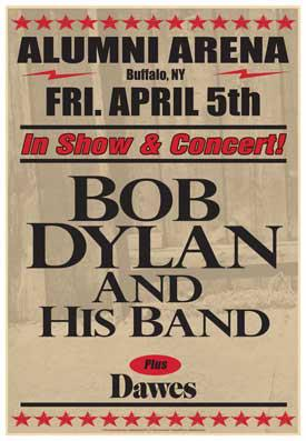 Bob Dylan Buffalo poster Bob Dylan wows Buffalo on first leg of 2013 North American Tour photo