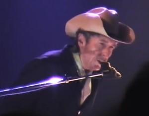 Bob Dylan at Barrowsland