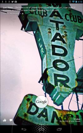 Exploring Facebook Home – Google