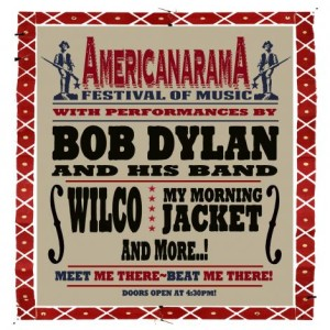 americanarama web 1 300x300 Bob Dylan releases US Canada summer tour 2013 photo