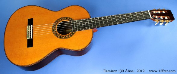 ramirez 130 anos cedar full 1 Ramirez 125 Anos Classical Guitar   a classic photo