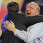 steve ballmer hugging ryan seacrest 150x150  photo