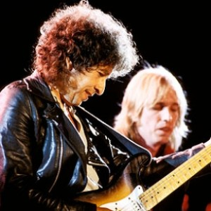 Bob Dylan and Tom Petty Temples in Flames Tour 1986 (Rolling Stone photo)