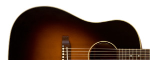 Gibson J-45 Standard Acoustic-Electric Guitar, Vintage Sunburst – the classic American guitar (Gibson photo)
