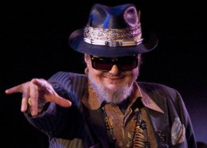 Dr. John, could not be seen by fans (photo Chronicle Herald)