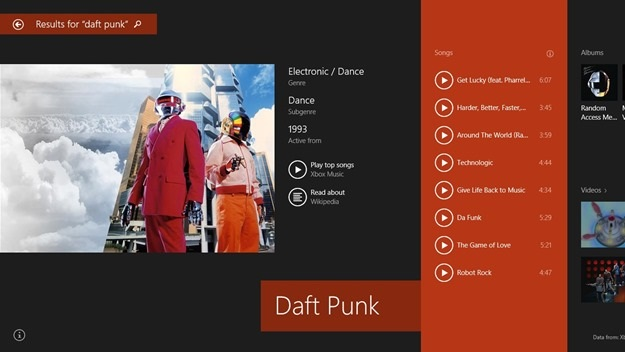 Bing Win 8.1 Daft punk Series: 2 Days To Windows 8.1   Bing Smart Search photo