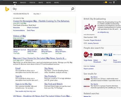 Bing web search Series: 2 Days To Windows 8.1   Bing Smart Search photo