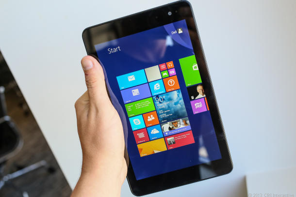 Dell Venue 8 Pro with Windows 8.1 at $299 (CNET photo)